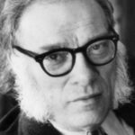 Portrait of the american biochemist and writer Isaac Asimov. USA, 1970s (Photo by Mondadori Portfolio via Getty Images)