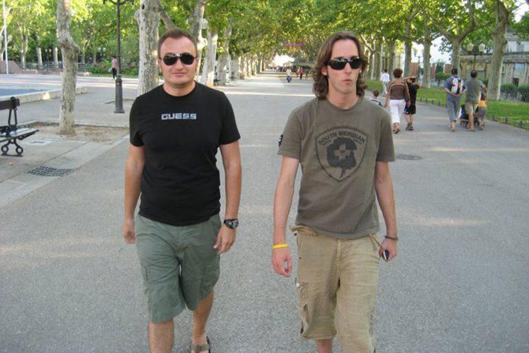 Julian y Albert Montpellier