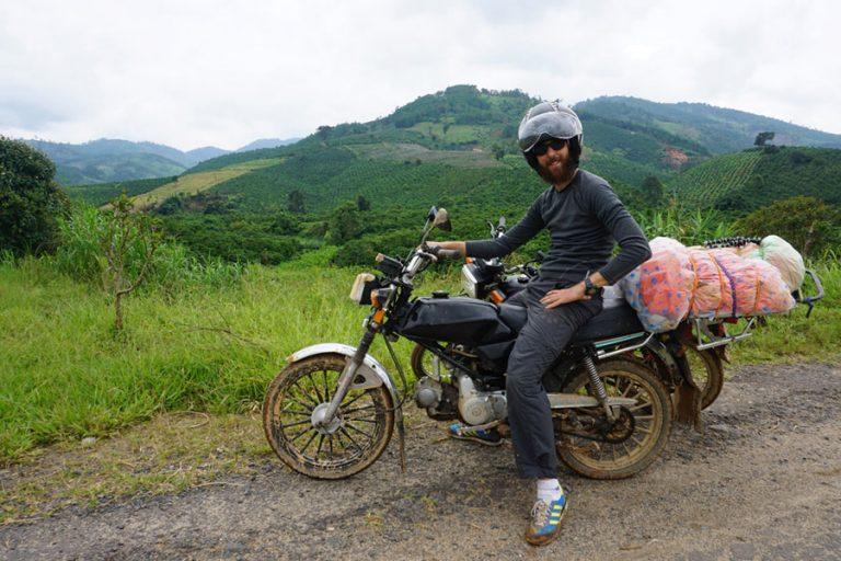 Motos Vietnam y Laos.