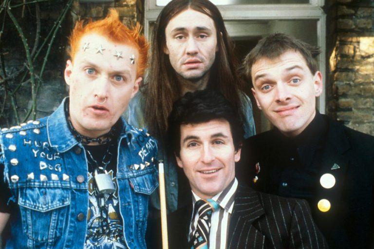 Els Joves - Rick, Neil, Mike y Vyvyan